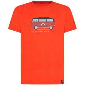 La Sportiva Van T-Shirt Men poppy